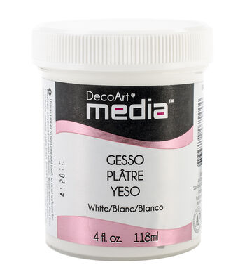 DecoArt Media Gesso 4oz-White