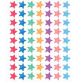 Teacher Created Resources Watercolor Stars Mini Stickers 12 Packs