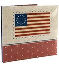 MBI American Flag Post Bound Album 12\u0022X12\u0022-Flag