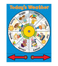 Carson-Dellosa Weather Wheel Chart 6pk