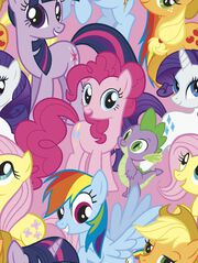 Hasbro My Little Pony Fleece Fabric -Packed, , hi-res