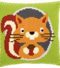Vervaco 16\u0027\u0027x16\u0027\u0027 Cushion Cross Stitch Kit-Squirrel