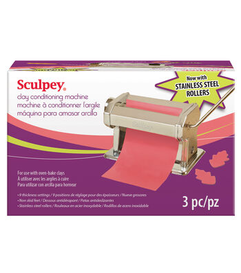 Sculpey Clay Conditioning Machine