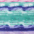 Valentine\u0027s Day Anti-Pill Plush Fleece Fabric-Small Hearts on Watercolor