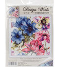Design Works Stitched in Yarn Needlepoint Kit-Watercolor Floral