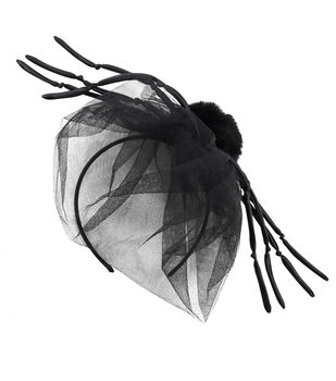 Maker's Halloween Headband Fascinator with Spider