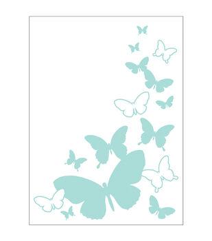 Park Lane A2 Embossing Folder-Butterfly