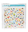 Life Organized 324 pk Micro Stickers-Sports Fan