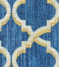 Waverly Multi-Purpose Decor Fabric 54\u0027\u0027-Indigo Lustrous Lattice