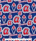 Cooperstown Atlanta Braves Cotton Fabric
