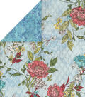Double Faced Quilt Fabric 42\u0027\u0027-Sketch Floral
