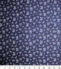Quilter\u0027s Showcase Fabric 44\u0027\u0027-Ditsy Floral on Navy