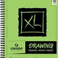 Canson XL 9\u0027\u0027x12\u0027\u0027 60 Sheets Spiral Drawing Pad