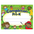 Teacher Created Resources Pre-K Certificate of Completion, 50/Pack