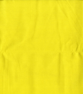 Wide Quilt Fabric 108''-Bright Yellow