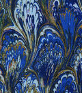 Premium Wide Cotton Fabric 108\u0022-Oil Slick Purple Blue