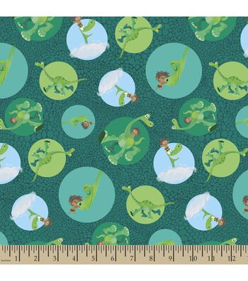 Disney PIXAR The Good Dinosaur Print Fabric-Dots