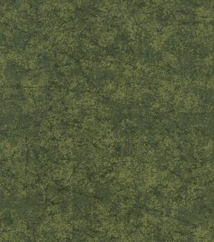 Keepsake Calico Cotton Fabric -Green Distressed