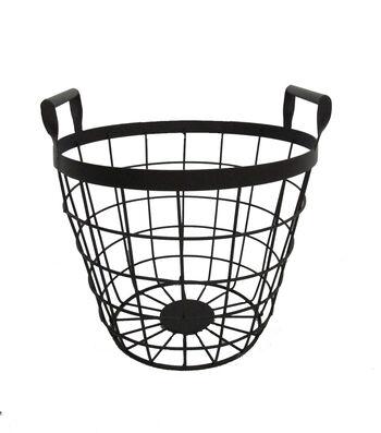 Blooming Autumn Medium Metal Basket