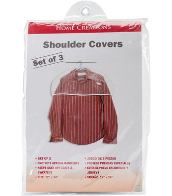 Shoulder Covers 3 Pack-Clear