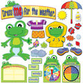 FUNky Frig Weather Bulletin Board Set, 2 Sets