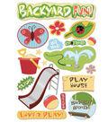Karen Foster Cardstock Stickers-Backyard Fun
