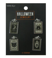 hildie & jo Halloween 4 pk Rectangular Charms, , hi-res