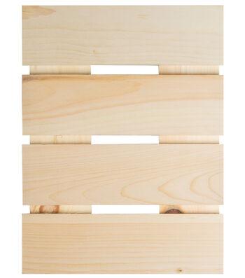 Fab Lab Autumn Wood Surface Pallet Decor