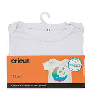 Cricut Infusible Ink Baby Bodysuit-White