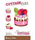 CottageCutz Die-Berry Cake 1.5\u0022X1.5\u0022