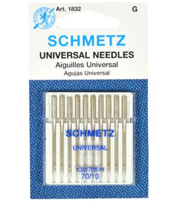 Schmetz Universal Needles 10pcs Size 70/10