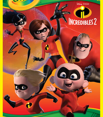 Crayola Giant Coloring Pages-Incredibles 2