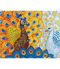 Diamond Embroidery Facet Art Kit 31.5\u0022X25\u0022-Romantic Peacocks