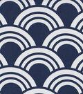 Modern Essentials 54\u0022 Print Fabric-Blue Fan