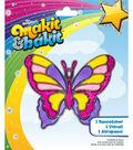 M B Glitter Double Butterflies
