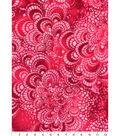 Snuggle Tie-Dye Flannel Fabric -Magenta Tile