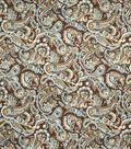 Home Decor 8\u0022x8\u0022 Fabric Swatch-Jaclyn Smith Birmingham Peacock