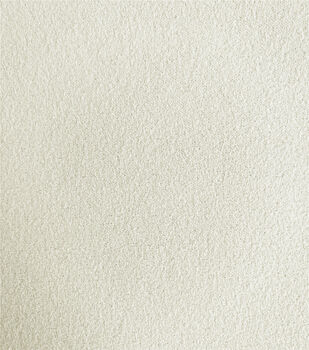 Stretch Crepe Knit Fabric-Ivory Solids