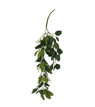 Bloom Room Artisan 22.75'' Ivy Hanging Bush-Green