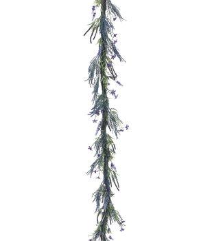 Bloom Room 6' Lavender & Fern Garland
