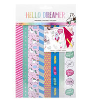 American Crafts Hello Dreamer Washi Tape Book, , hi-res