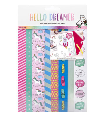 American Crafts Hello Dreamer Washi Tape Book