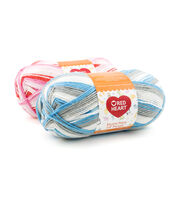 Red Heart Bunches Of Hugs Yarn, , hi-res