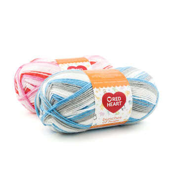 Red Heart Bunches Of Hugs Yarn