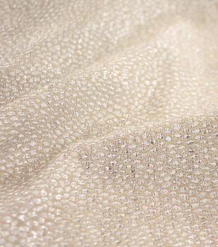 Sew Sweet Jacquard Fabric-Champagne Gold Metallic