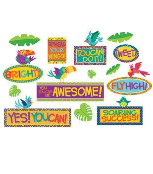 Eureka Mini Bulletin Board Set-Toucan Motivational