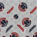 Washington Wizards Cotton Fabric -Logo Toss