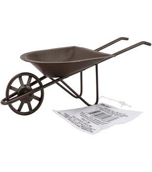 Timeless Miniatures-Rusted Tin Wheelbarrow