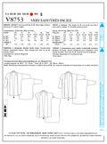 Mccall Pattern V8753 Zz (Lrg-Xl-Vogue Pattern