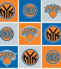 New York Knicks Fleece Fabric 58\u0022-Block